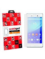 Original Scratchgard Anti-Glare Screen Protector for Sony Xperia M4 Aqua (Front & Back)