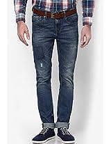 Blue Slim Fit Jeans (soho)