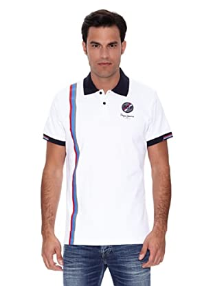 Pepe Jeans London Polo Pick (Blanco)