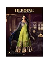 Traditional 2 Trendy Womens Net Anarkali Dress Material (Hpc5031 -Multi-Coloured -Free Size)