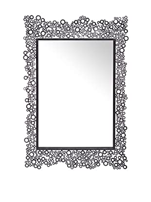 Cooper Classics Kate Mirror, Dark Silver