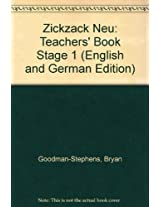 Zickzack Neu: Teachers' Book Stage 1