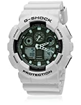 G-Shock Aga-100Lg-8Adr-G489 White/Multi Analog & Digital Watch