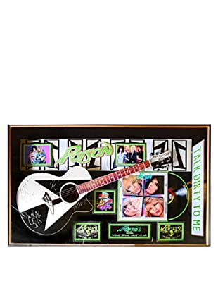 Signed Poison Guitar