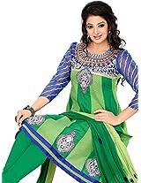 Cenizas embroidered Semi Stich Salwar Suit Duptta ( CHTRA 528)