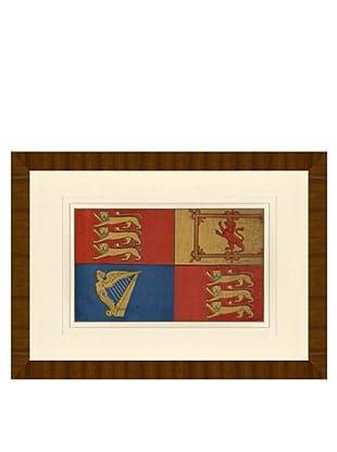 Reproduction of Queens Flag Circa 1870-1890