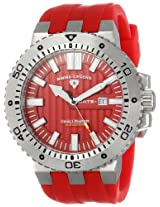 Swiss Legend Men's 10126-05 Challenger Analog Display Swiss Quartz Red Watch