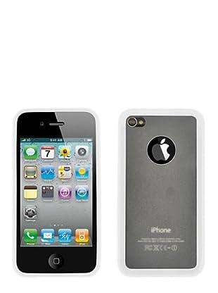 Blautel iPhone 4/4S Carcasa Protectora Bumper Lateral Blanco