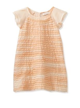 Pale Cloud Girl's Sophie Dress (Salmon Blend)