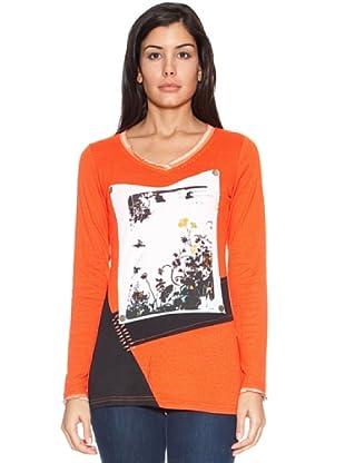 HHG T-Shirt Brasilia (Arancio/Nero)