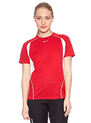 Craft T-Shirt Manga Corta T&F (Rosso)