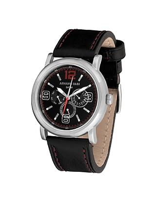 ARMAND BASI A0891G02 - Reloj de Caballero movimiento de cuarzo con correa de piel Negra