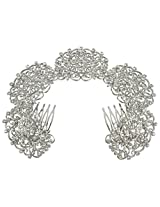 MUCHMORE Brass Made Funky Design Partywear Charm Look Hair Clip & Pin For Girls & Women