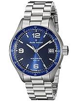 Claude Bernard Men's 70169 3B BUIN Analog Display Swiss Quartz Silver Watch
