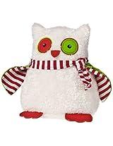 Big Yuletide Owl 9-Inch Plush Toy