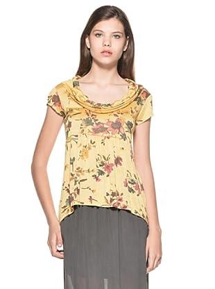 Eccentrica Camiseta Niamh (Amarillo)
