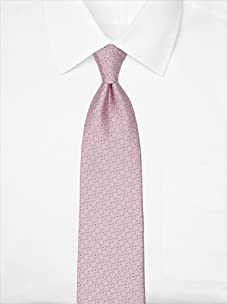 Nina Ricci Men's Dotted Jacquard Tie, Pink