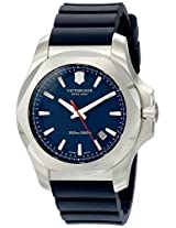 Victorinox Men's 241688.1 I.N.O.X. Analog Display Swiss Quartz Blue Watch