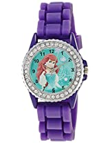 Disney Analog Multi-Color Dial Children's Watch - LP-1001 (Purple)