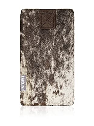 Natural iPhone Cowhide Case (Tri-Color)