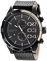 Diesel End-of-Season Double Dow Analog Black Dial Men Watch - DZ4327