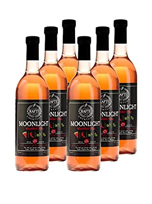 Crafted Cocktails 6-Pack Moonlight All Natural Low Calorie Cocktail Mix