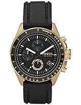 Fossil Chronograph Black Dial Women's Watch - DE5003
