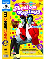 Action Replayy + 1Free Movie Vcd