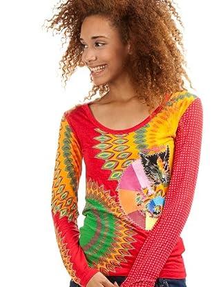 Desigual Camiseta Sonia (Rojo)