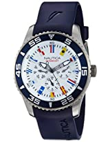 Nautica Analog White Dial Men's Watch - NTA12627G