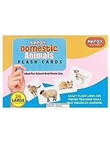 Krazy Domestic Animals - Flash Cards