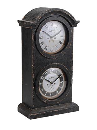 Amadeus Reloj De Mesa Negro Basil 52 cm Madera