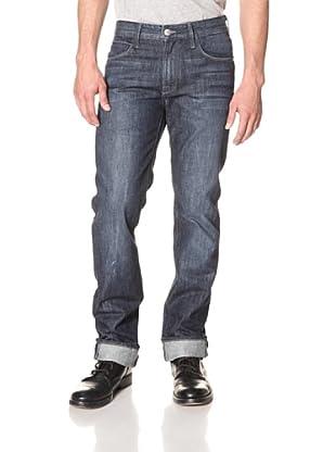 Agave Denim Men's Pragmatist Straight Leg 5-Pocket Jean (Yosemite Medium Vintage)