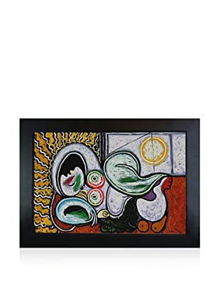 Pablo Picasso Nu Couche Framed Oil Painting, 24 x 36