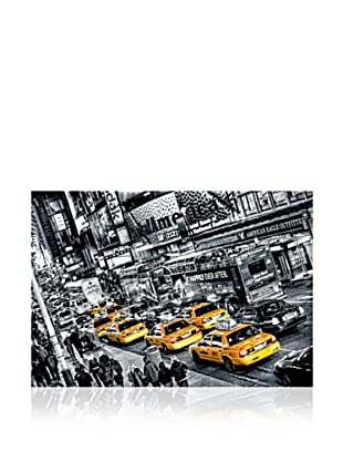 Cabs Queue Large Wall Mural