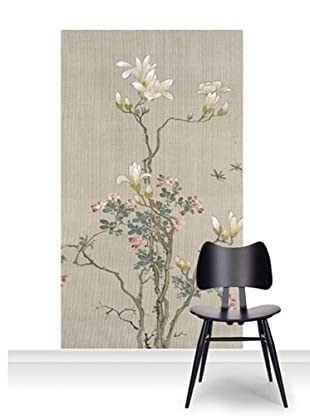 Victoria and Albert Museum Flowering Shrub and Mayflies Mural (Accent)