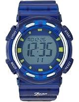 Titan Zoop Digital Bluish Grey Dial Children's Watch - C3026PP02