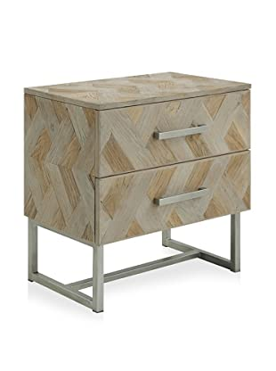 Shine by S.H.O Naya Cabinet (Old Elm/Antique Grey)