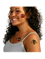 Chicago Blackhawks Temporary Tattoos by Wincraft