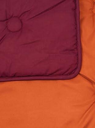 Icelands Relleno Nórdico Mediterráneo Capitone 350 G / m2 (Naranja / Rojo)