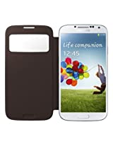 Samsung Galaxy S4 S - View Flip Cover - Brown