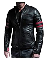 Zayn Leather Men's Leather Jacket (002_WLJ_Black_Small)