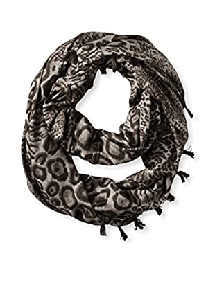 Sir Alistair Rai Women's Leopard Infinity Scarf, Walnut Multi
