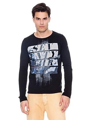 Pepe Jeans London Camiseta Evelyn (Negro)