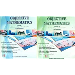 Objective Mathematics For IIT-JEE, AIEEE and All Other Engineering Entrance Examinations (Set of 2 Volumes)