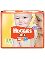 Huggies New Small Dry Diapers (10 Count)