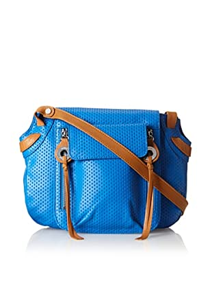 Joelle Hawkens Women's Axis Cross-Body, Blue Perforated