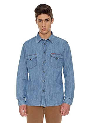 Carrera Jeans Camisa Denim 7 Oz (Azul)