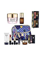 New Estee Lauder Fall 9pc Skincare Makeup Gift Set $165 Value with Cosmetic Bag Macy's Exclusive