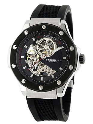 STÜRLING ORIGINAL 160A.332B61 - Reloj de Caballero movimiento automático con correa de silicona